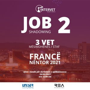 JOIN ONE OF THE LEARNING MOBILITY OPPORTUNITIES FOR YOUR COUNTRY – Job Shadowing 2